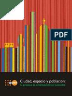 Ciudad, espacio y poblacion - El proceso de Urbanizacion en Colombia.pdf