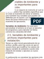 2.5. Variables de Ambiente y archivos importantes para instalación..pptx