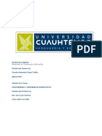Casas Trujillo Claudia Actividad Actividad 2.1 Mapa cognitivo