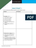 Cambridge IGCSE French Worksheet R6.01