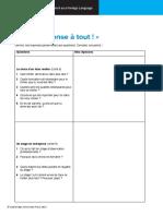 Cambridge IGCSE French Worksheet R5.01