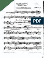 Tomasi - concerto Trp part