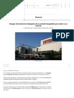 Acogen demanda de trabajador de Lucchetti despedido por asistir a un funeral _ Nacional _ Radio ADN 91.7 (2)