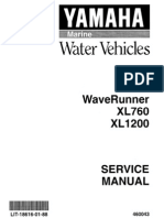 Yamaha Wave Runner - XL700 Repair Manual