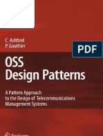 OSS Design Patterns a Pattern Approach to the Design of Telecommunications Managemen Www.update-boo