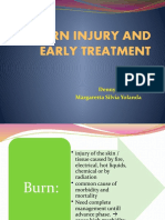 Resuscitation and Early Treatment of burn injury