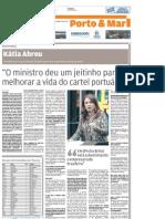 A Tribuna - 2008 11 09 - Entrevista Senadora Kátia Abreu
