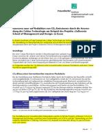 Fraunhofer IAO Nachweis_CO2 Reduktion