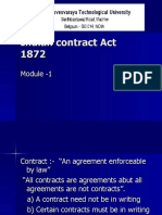 Indian contract Act 1872 module-1-I