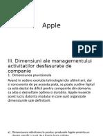 Apple - management