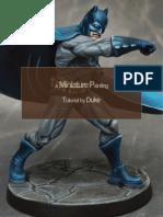Batman Tutorial by Duke's paint art