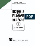 Fasso Guido - Historia de La Filosofia Del Derecho 2 - La Edad Moderna