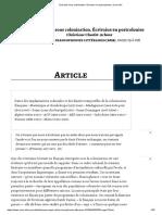 Écrivains sous colonisation. Écrivains en postcolonies _ Cairn.info.pdf