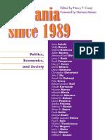 Henry F. Carey - Romania since 1989. Politics, Economics, and Society