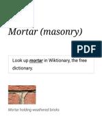 Mortar (masonry) - Wikipedia.pdf