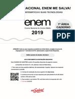 1st SIMULADO ENEM 2019 - MeSalva! 45Qs