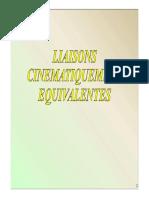 11- Cinematique Liaisons Equivalentes