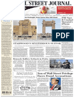 Wallstreetjournal 20160329 the Wall Street Journal