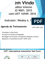 TREINAMENTO AUDITOR IATF 16949