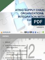 Supply Chain Organization Design