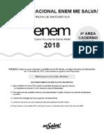 2nd SIMULADO ENEM 2018 - MeSalva! 45Qs
