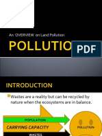 Pollution and Overview of Land Pollution