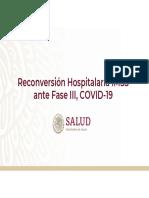 Reconversión Hospitalaria IMSS