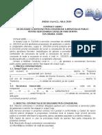 Anexa 4 la HCL 6 Model contract Concesiune