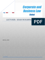 F4 _ CORPORATE AND BUSINESS LAW (GLOBAL) - ALL CHAPTER