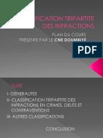 CLASSIFICATION TRIPARTITE DES INFRACTIONS CNE DOUMBIYE MARCEL.pdf