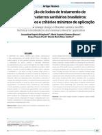 Artigo sobre codisposição de lodo de ETE