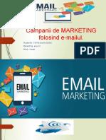 Campanii de MARKETING folosind e-mailul, Dodu Corina Diana, MK III