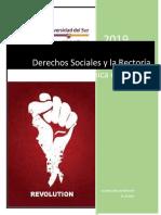 DERECHOS SOCIALES Y LA RECTORÍA ECONÓMICA DEL ESTADO