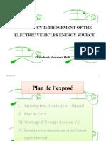 Véhicule Electrique et SC