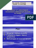 2006 Actuariat Algérie _ PJA-Actuariat-Assurance