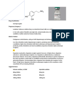 Dopamine Drug Study