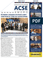 DELACSE Bangsamoro Phase 2 newsletter – March 2020 Issue