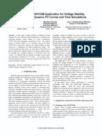 Statcom Voltage Stability