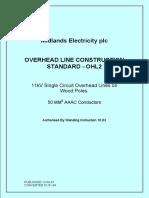 11kv network on wooden poles standards.pdf