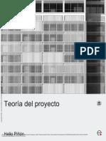 Teoría del proyecto - Helio Piñón