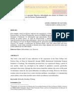 O desafio em ensinar e aprender História dificuldade dos alunos na leitura e na escrita nas series iniciais do Ensino Fund II.pdf