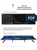 AMS Neve DFC Channel Strip Manual