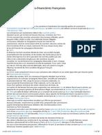 Liste d'Affaires Politico-financières Françaises Pricipalement de Gauche Escro