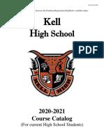 kell hs course catalog 2020 2021