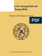 Ecigarete Use Among Youth and Young Adults