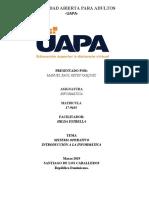 Sistema operativo Tarea UAPA