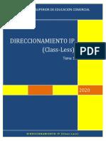 1. Direccionamiento IP Class Less.pdf