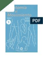 Anatomía par el movimiento - Tomo I