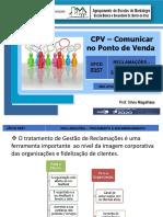Apresentação - UFCD 0357 - Reclamações - Tratamento e Encaminhamento.pdf