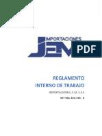 REG-SST-001 Reglamento Interno de Trabajo